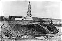 Photo of Dingman Well #2, 1914.