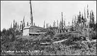 Photo - First Imperial Oil well, Norman Wells, 1920.